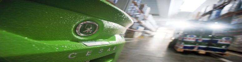 carrelli controbilanciati elettrici gamma cesab